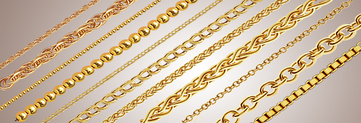 Three Tone Plated Chains